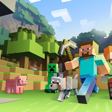 Minecraft image from game