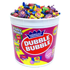 baseball gum dubble bubble